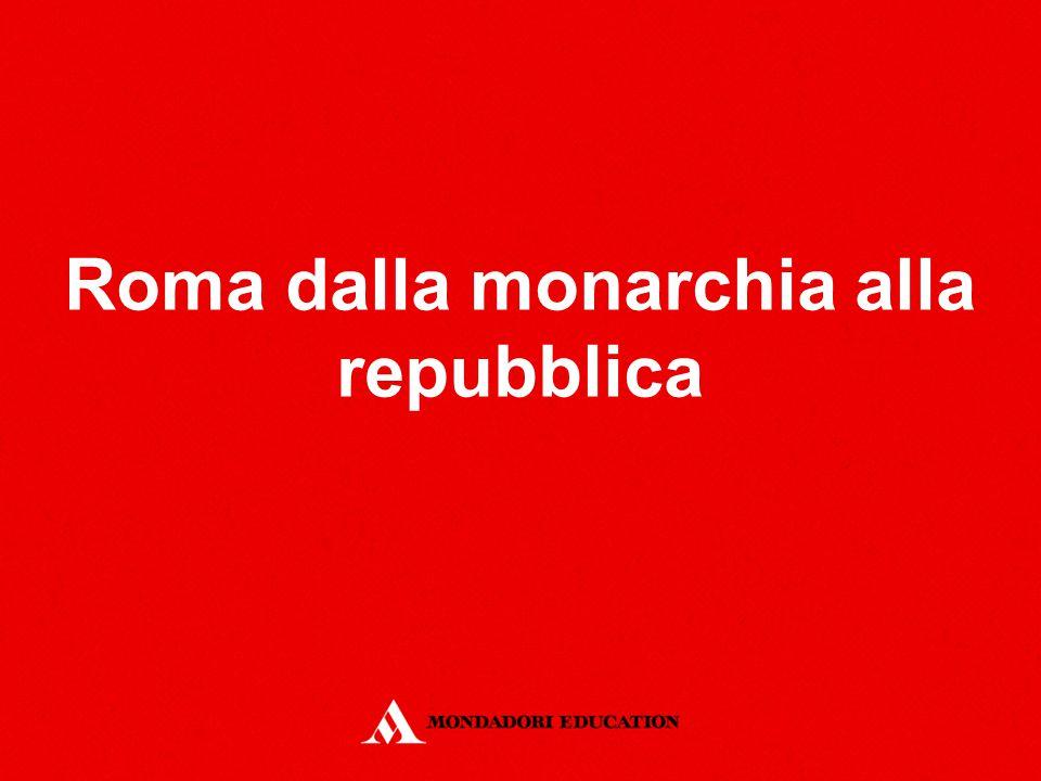 Roma dalla monarchia alla repubblica