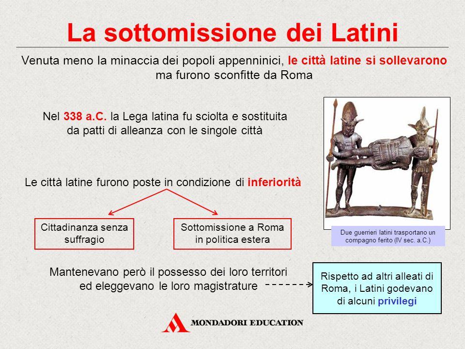 La sottomissione dei Latini