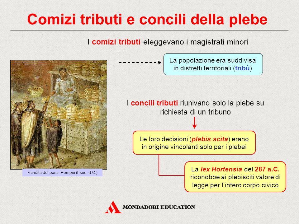 Comizi tributi e concili della plebe