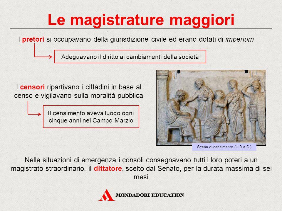 Le magistrature maggiori