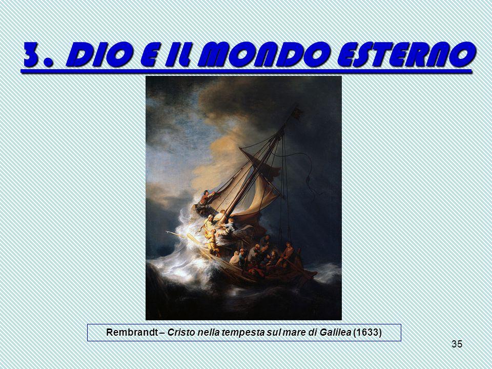 Rembrandt – Cristo nella tempesta sul mare di Galilea (1633)