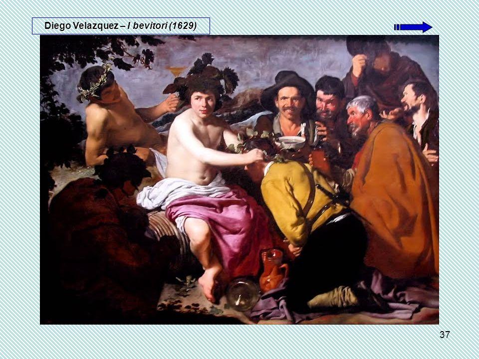Diego Velazquez – I bevitori (1629)