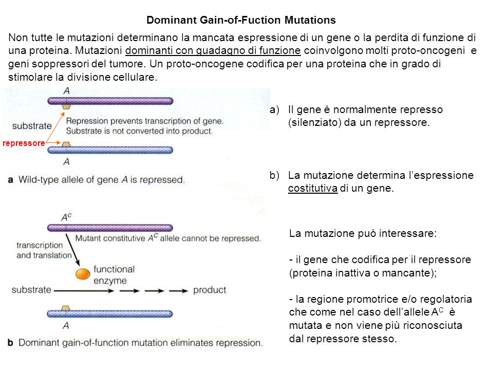Dominant Gain-of-Fuction Mutations