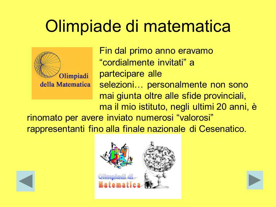 Olimpiade di matematica