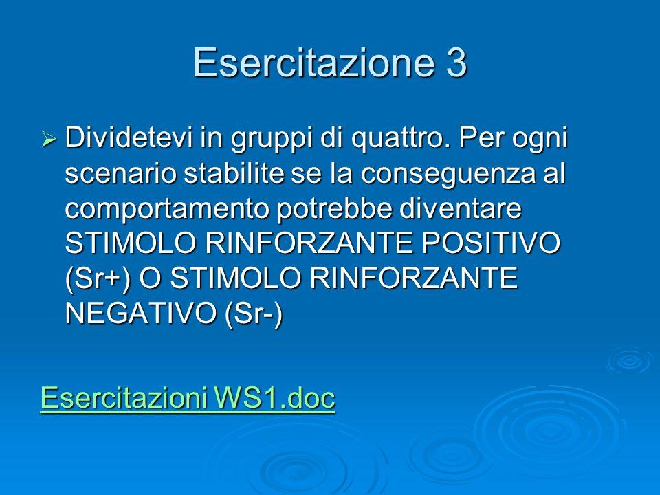 Workshop 1 Esercitazione 3.