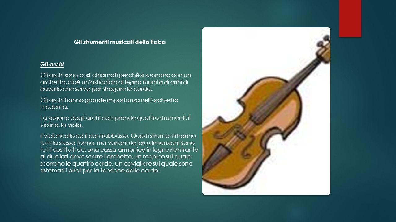 Gli strumenti musicali della fiaba