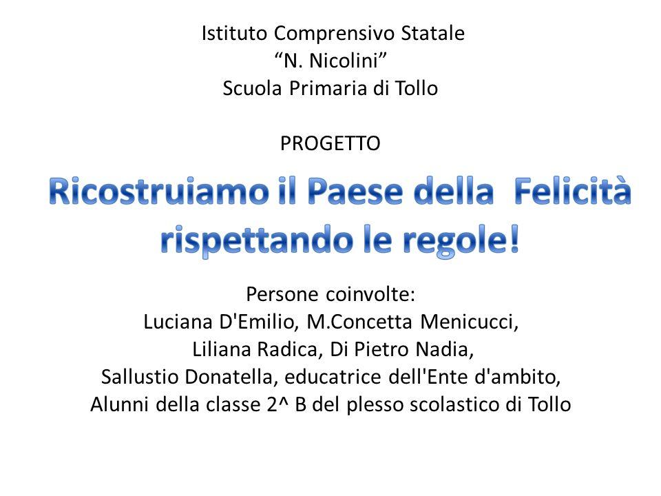Istituto Comprensivo Statale N Nicolini Scuola Primaria Di Tollo
