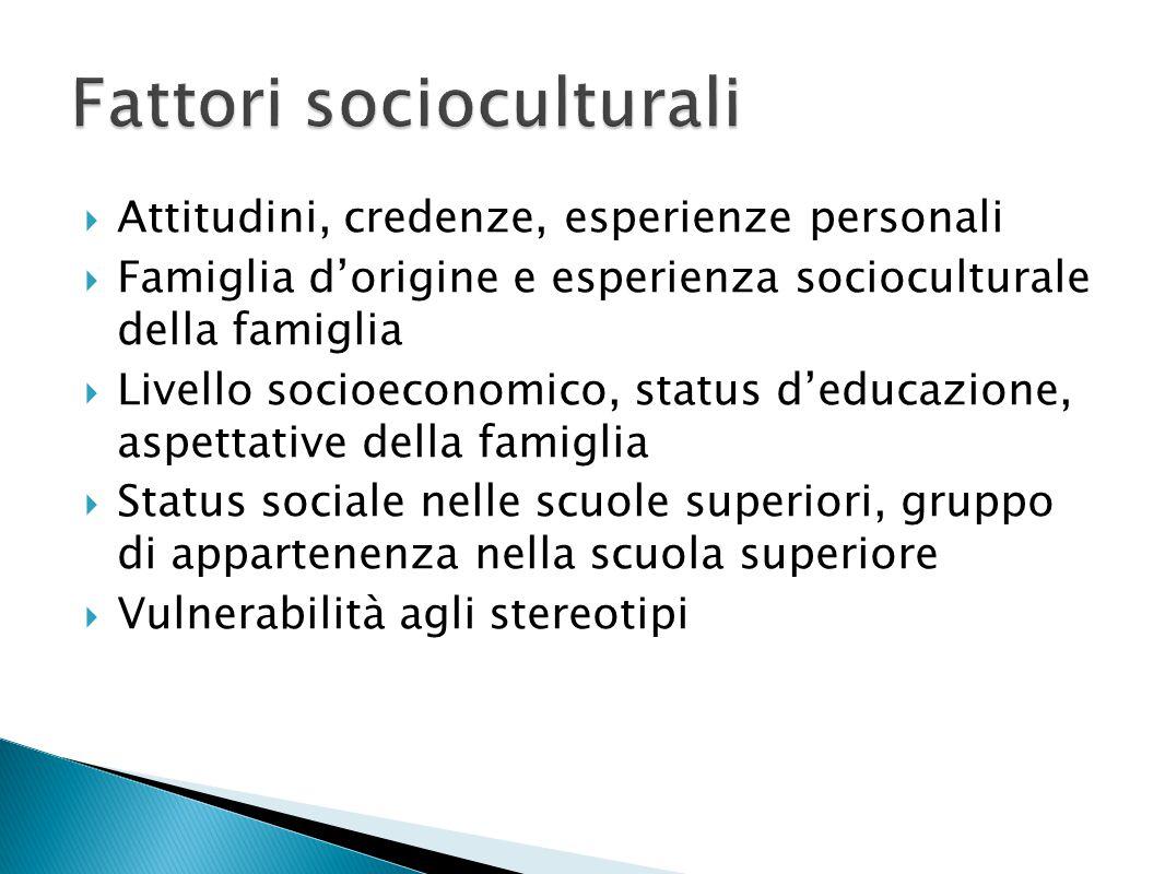 Fattori socioculturali