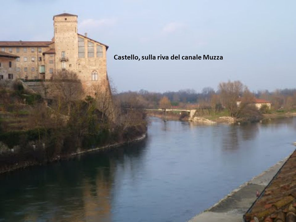 Castello, sulla riva del canale Muzza