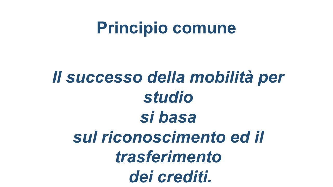Il successo della mobilità per studio si basa