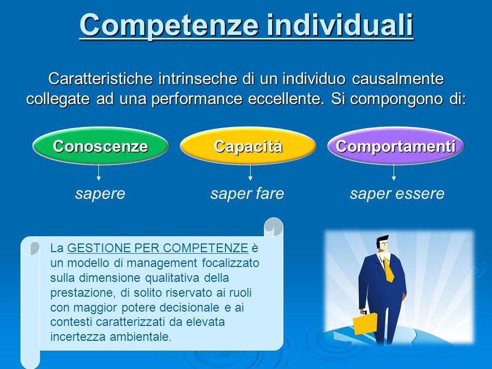 Competenze individuali
