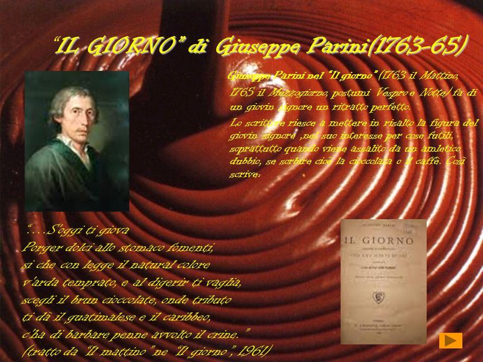 IL GIORNO di Giuseppe Parini(1763-65)