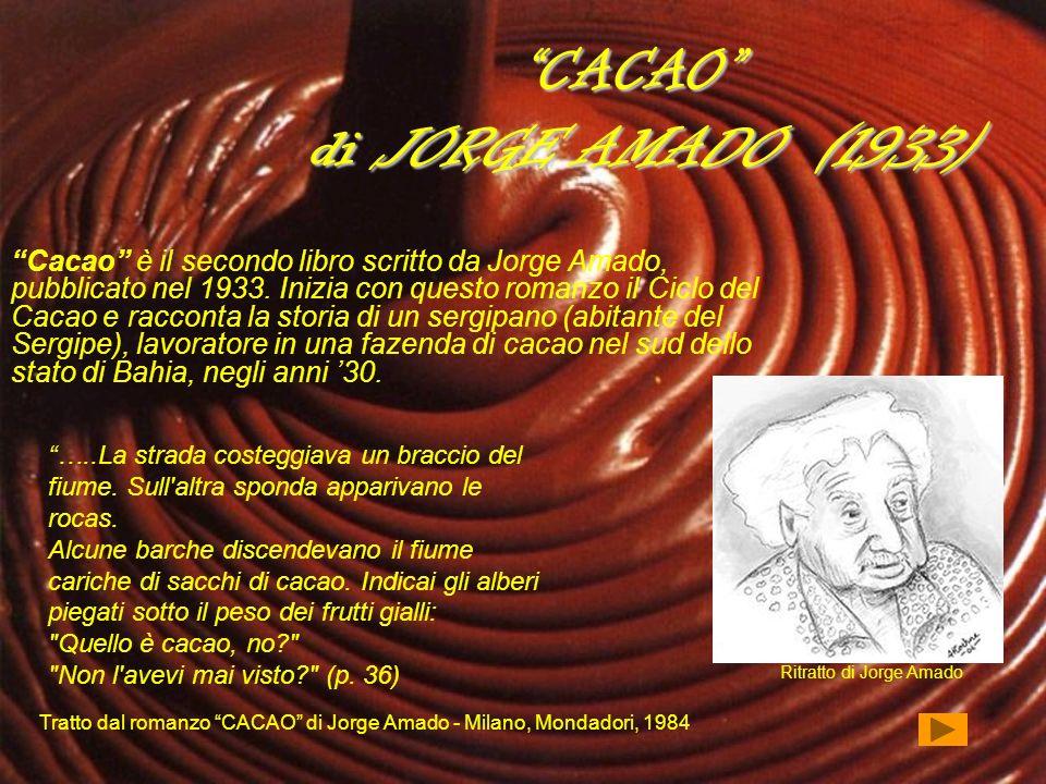 CACAO di JORGE AMADO (1933)