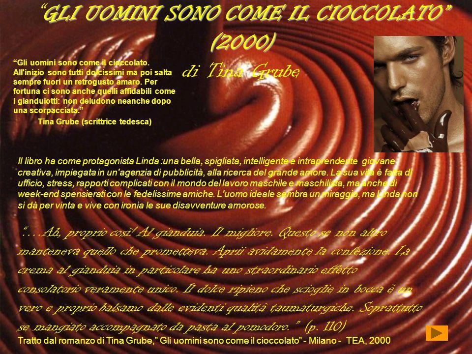 GLI UOMINI SONO COME IL CIOCCOLATO (2000) di Tina Grube