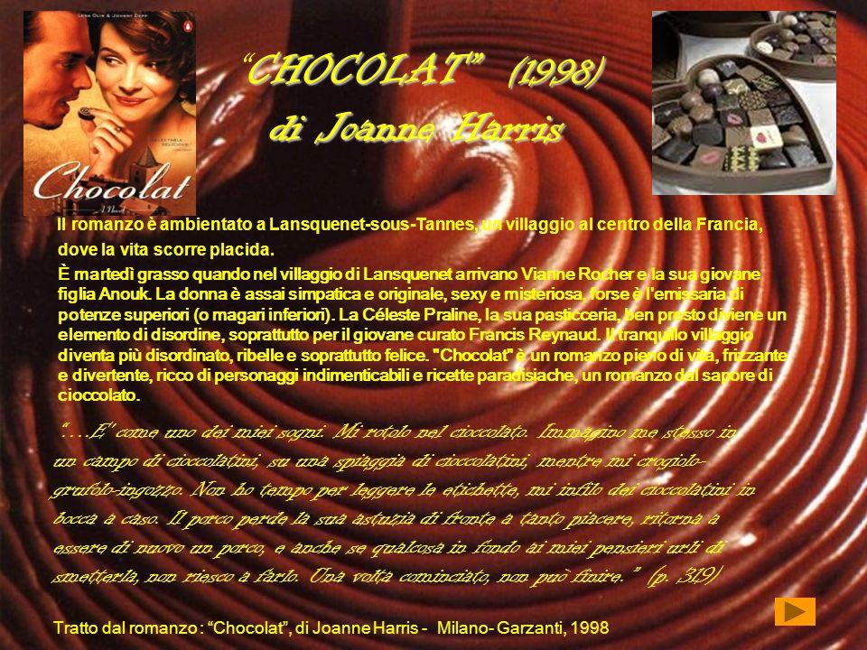 CHOCOLAT (1998) di Joanne Harris