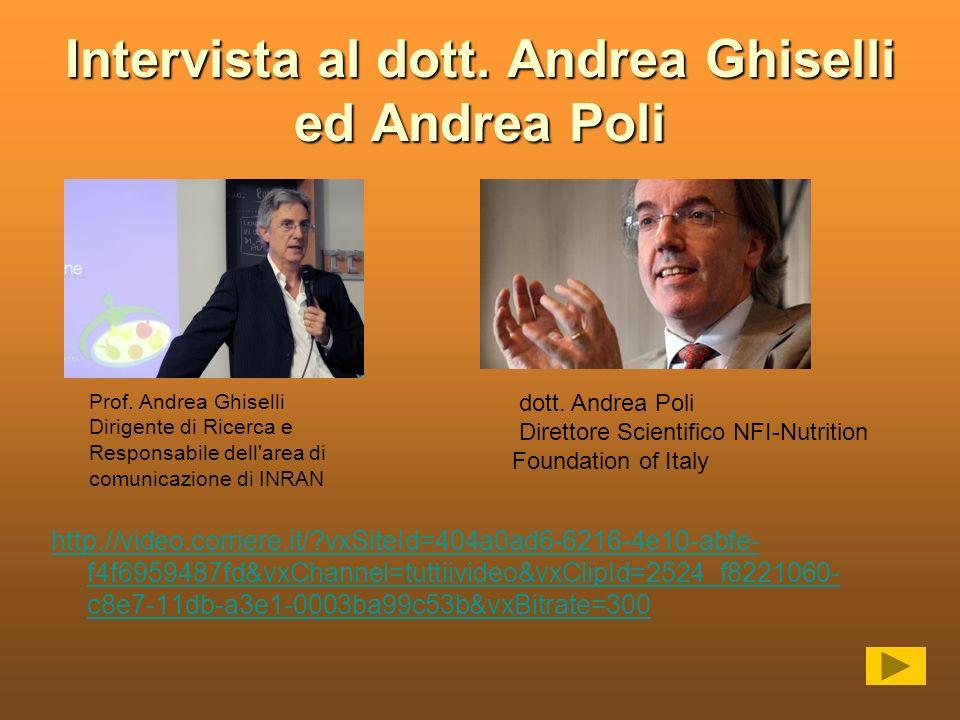 Intervista al dott. Andrea Ghiselli ed Andrea Poli