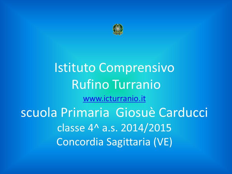 Istituto Comprensivo Rufino Turranio www. icturranio