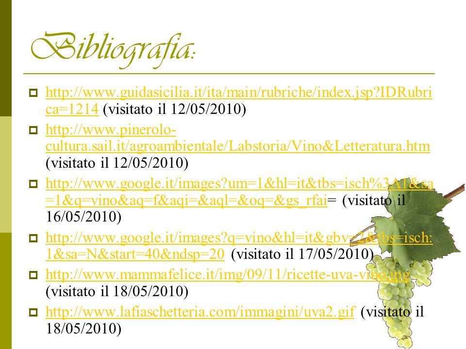 Bibliografia: http://www.guidasicilia.it/ita/main/rubriche/index.jsp IDRubrica=1214 (visitato il 12/05/2010)