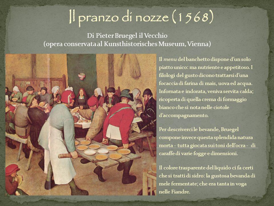 Il pranzo di nozze (1568) Di Pieter Bruegel il Vecchio