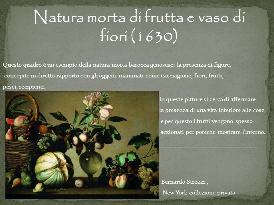 Natura morta di frutta e vaso di fiori (1630)