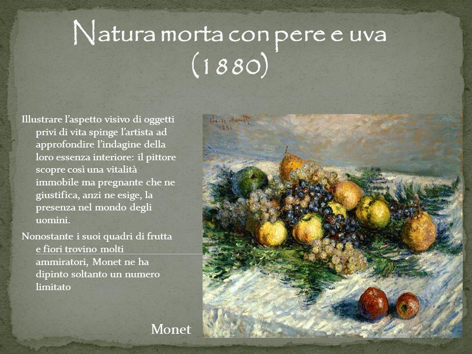 Natura morta con pere e uva (1880)