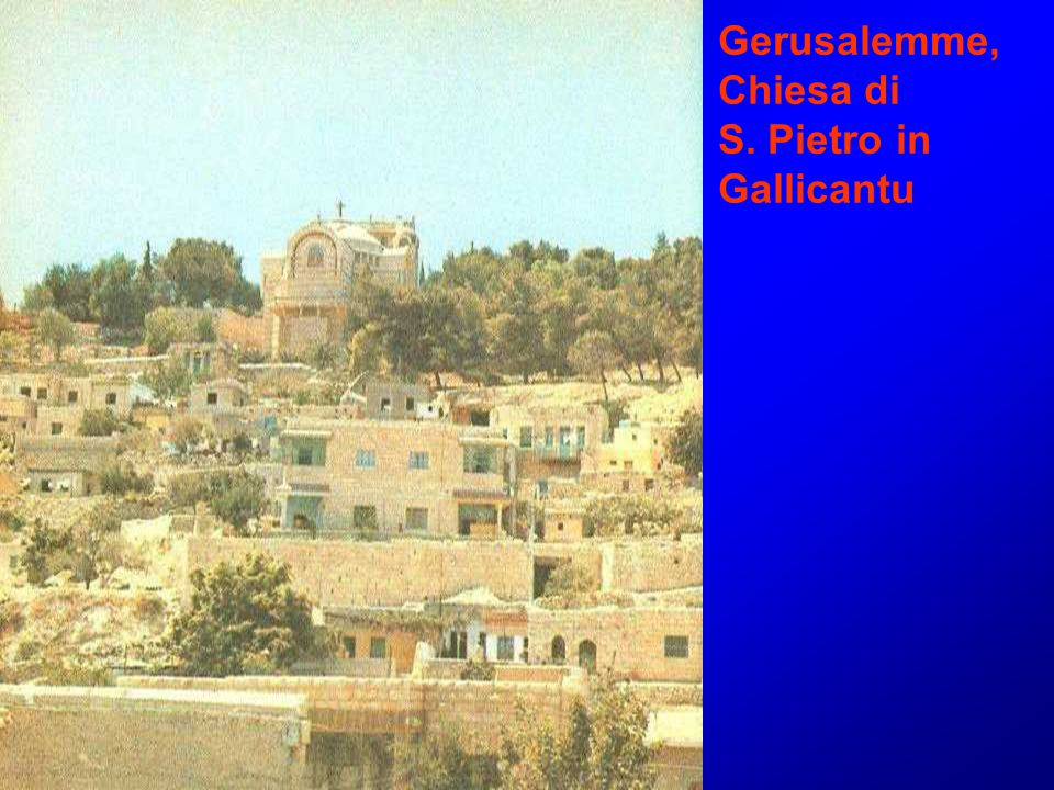 Gerusalemme, Chiesa di S. Pietro in Gallicantu