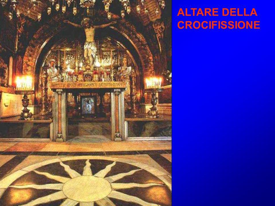 ALTARE DELLA CROCIFISSIONE