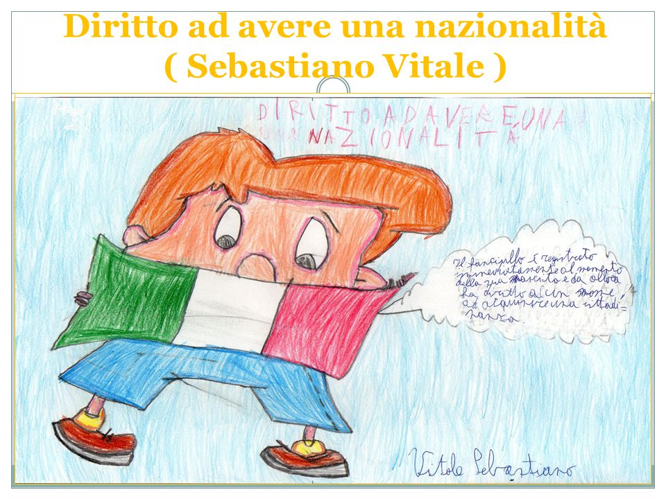Diritto ad avere una nazionalità ( Sebastiano Vitale )