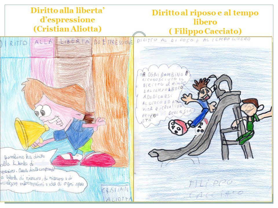 Diritto alla liberta' d'espressione (Cristian Aliotta)