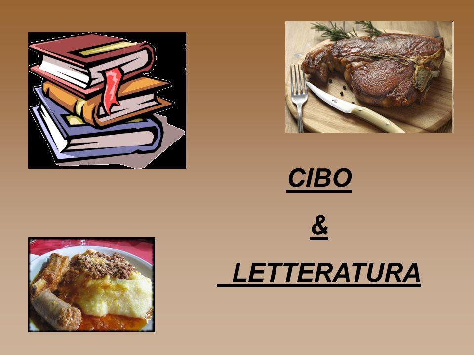 CIBO & LETTERATURA