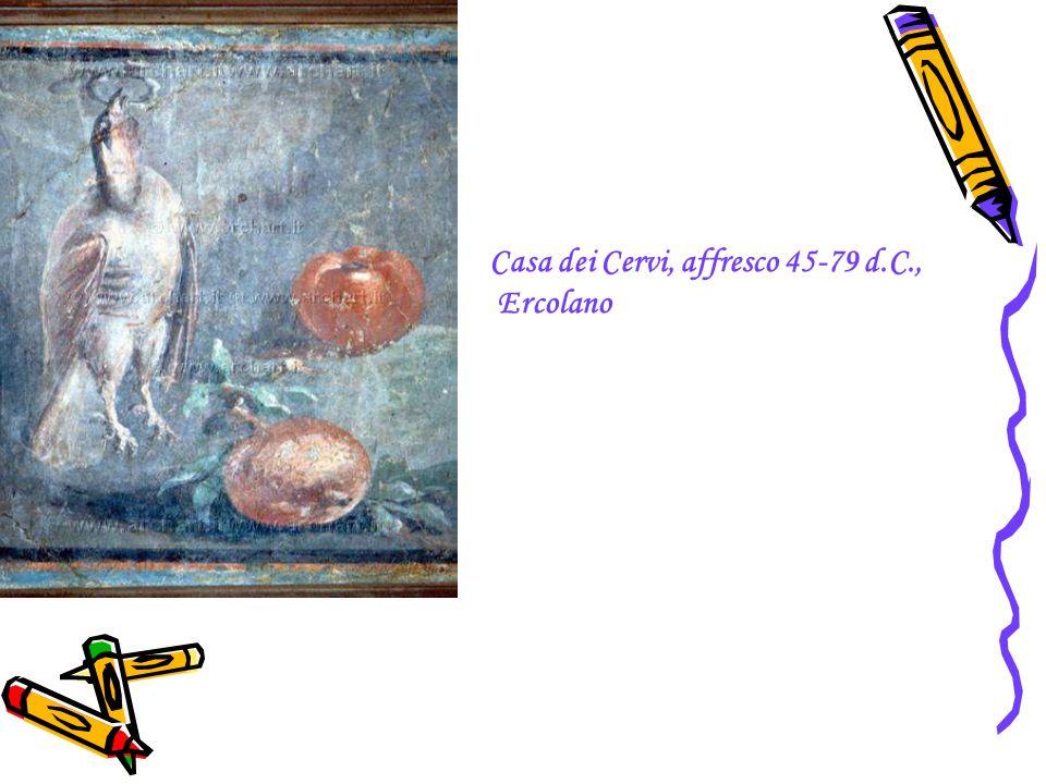 Casa dei Cervi, affresco 45-79 d.C.,