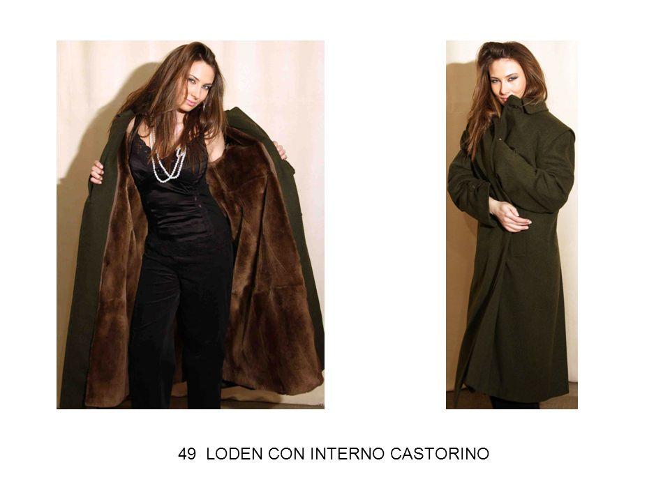 49 LODEN CON INTERNO CASTORINO