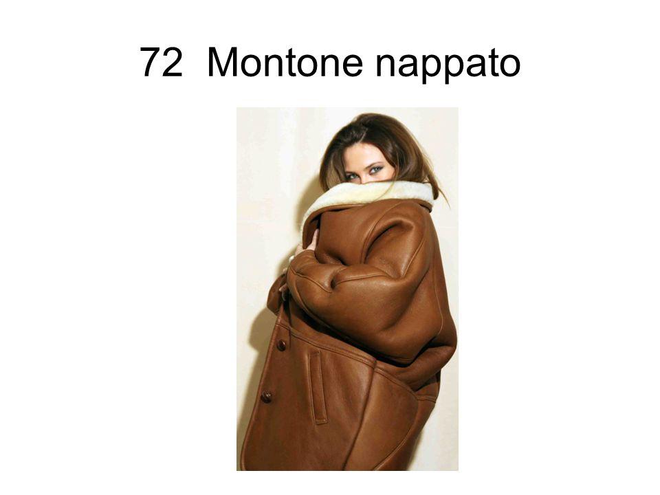72 Montone nappato