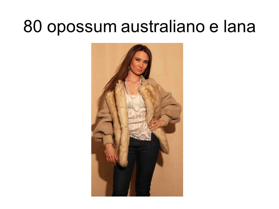 80 opossum australiano e lana
