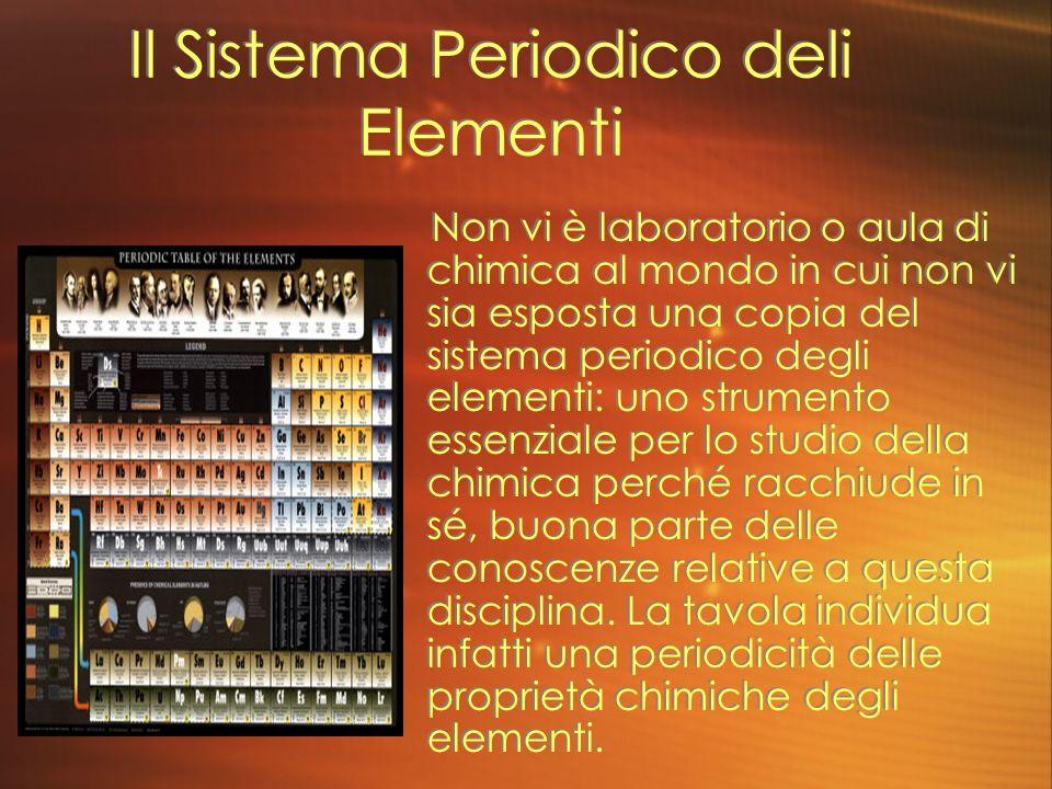 Il Sistema Periodico deli Elementi
