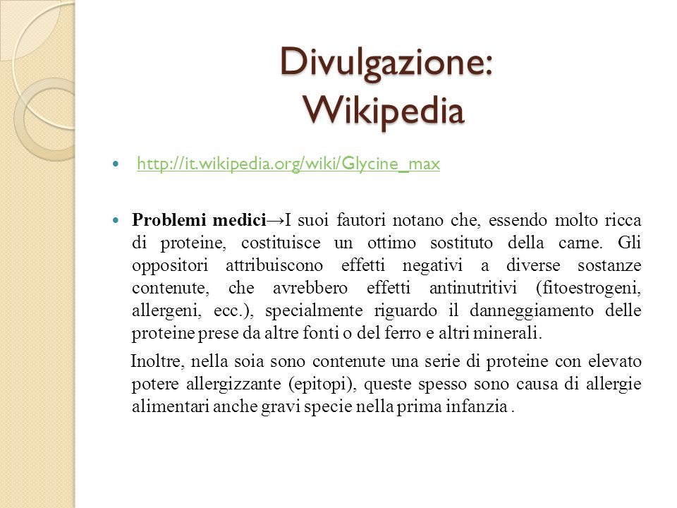 Divulgazione: Wikipedia