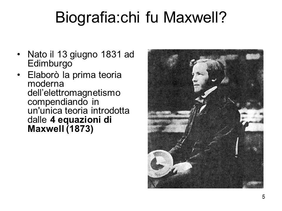 Biografia:chi fu Maxwell