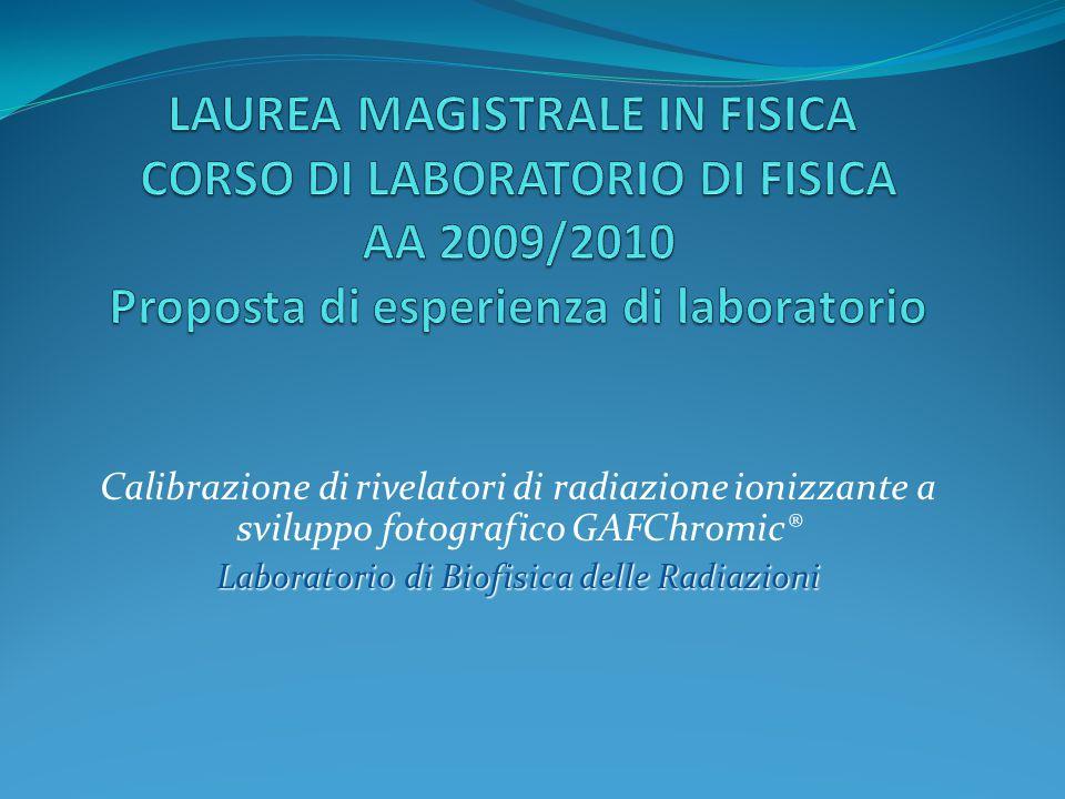Laboratorio di Biofisica delle Radiazioni