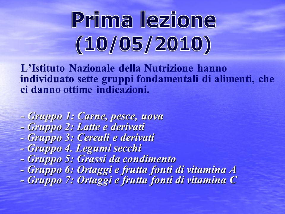 Prima lezione (10/05/2010)