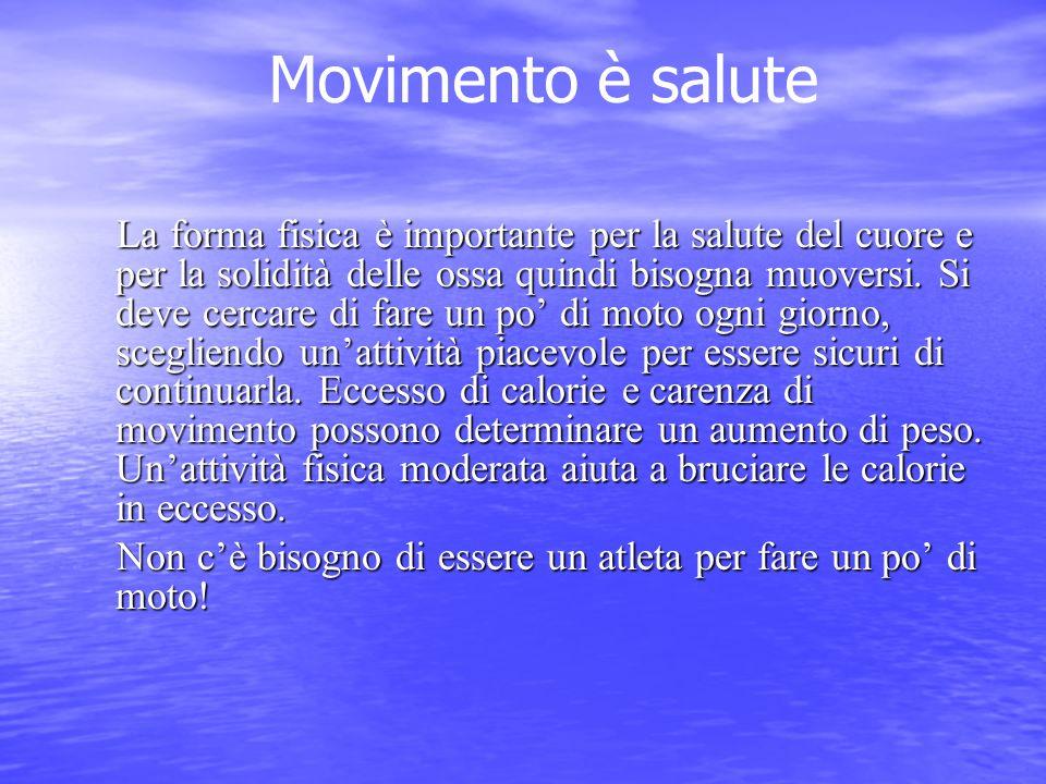 Movimento è salute