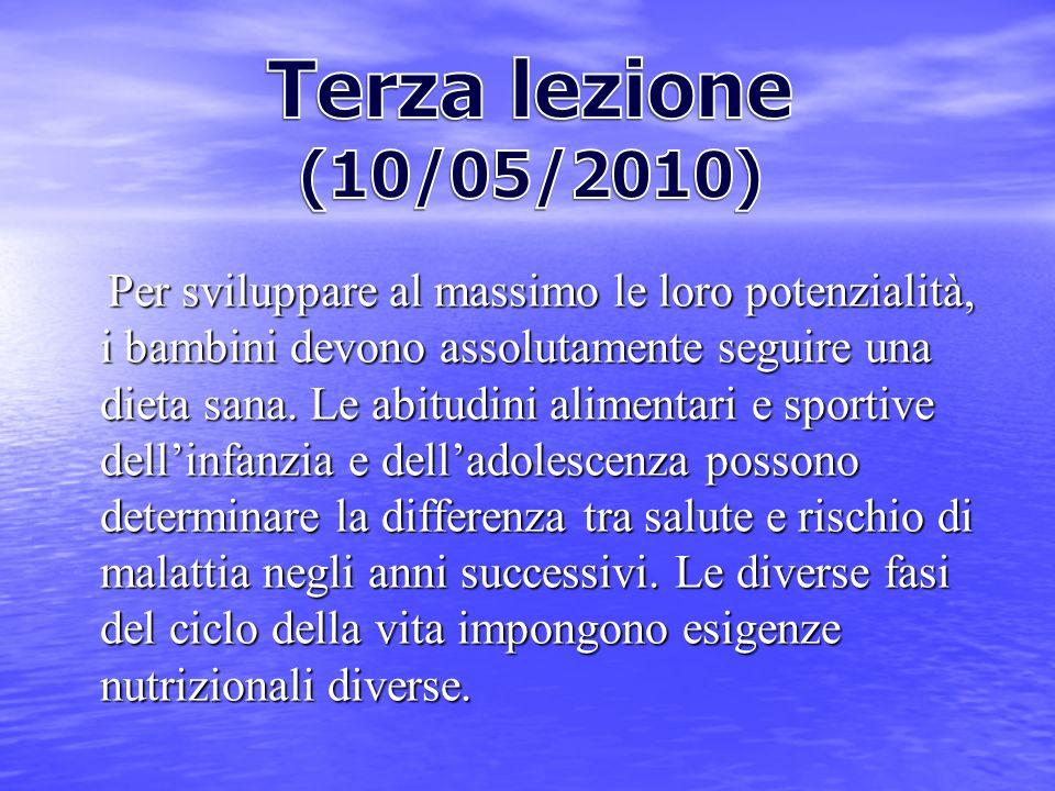 Terza lezione (10/05/2010)
