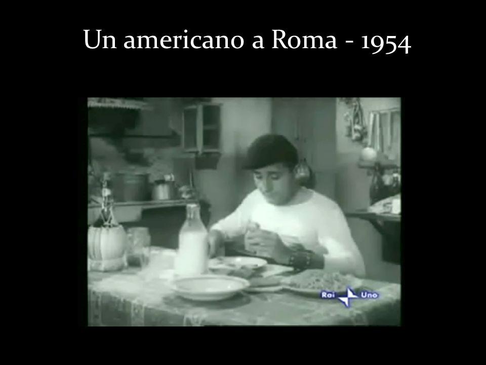 Un americano a Roma - 1954
