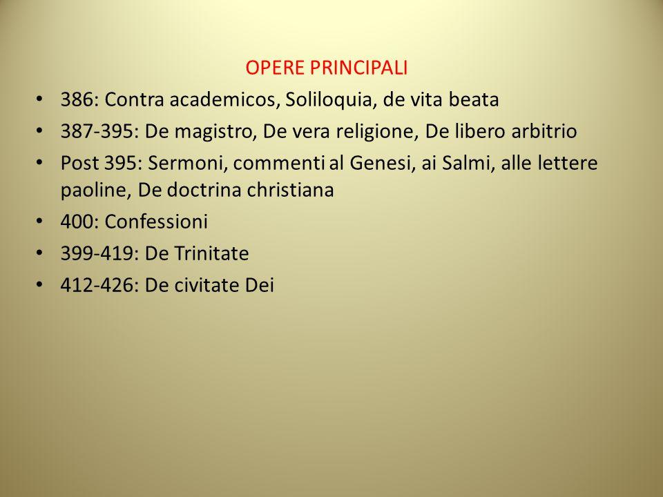 386: Contra academicos, Soliloquia, de vita beata