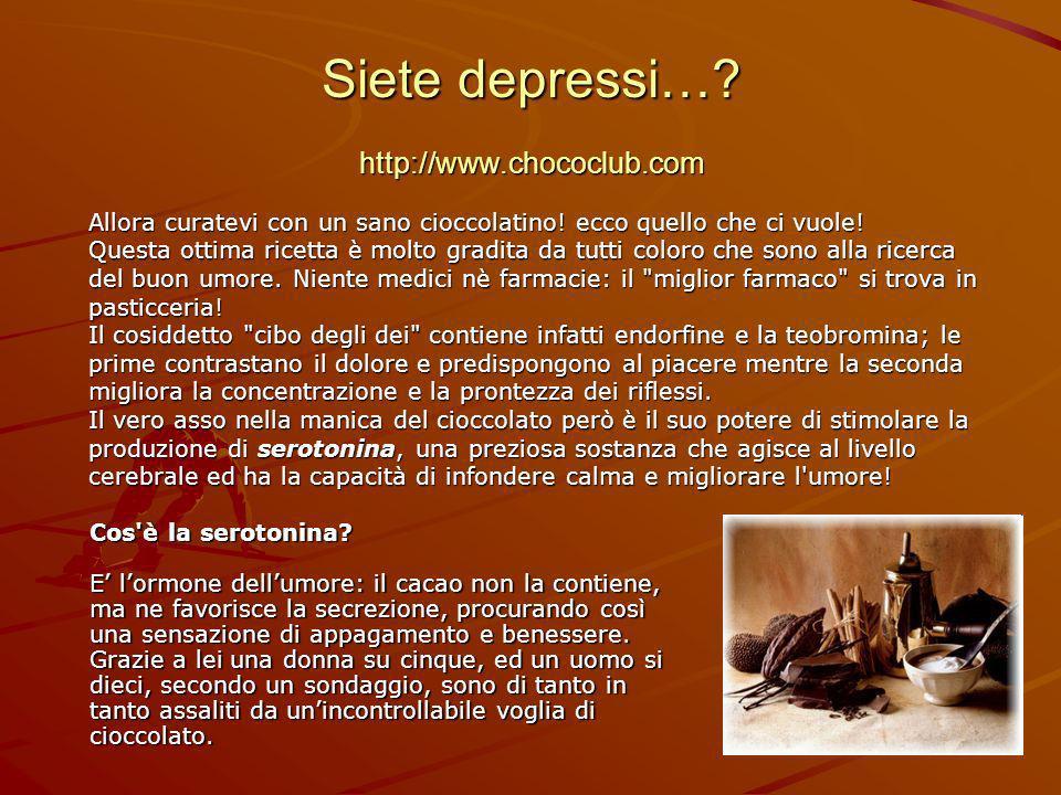 Siete depressi… http://www.chococlub.com