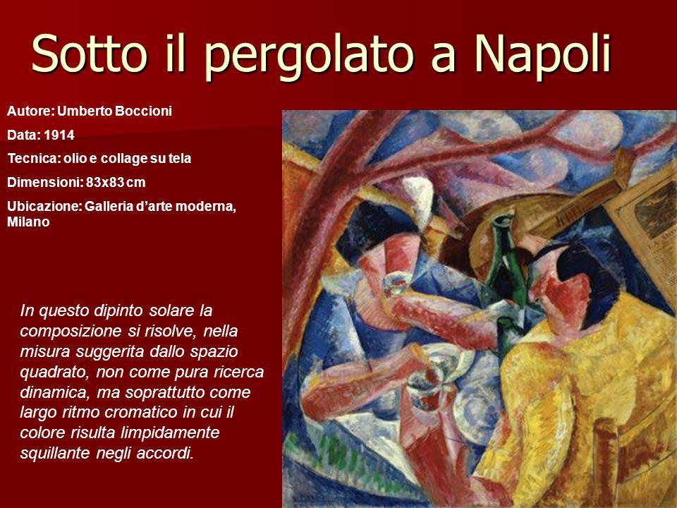 Sotto il pergolato a Napoli
