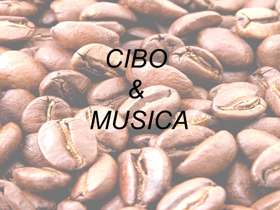 CIBO & MUSICA