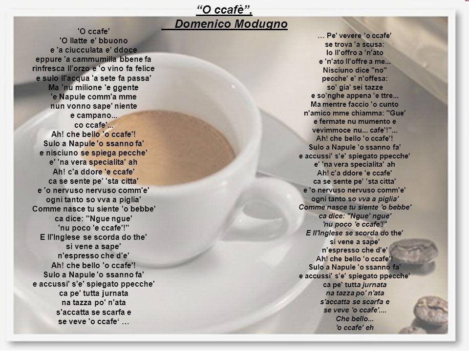 O ccafè , Domenico Modugno