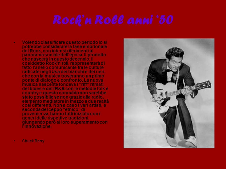 Rock'n Roll anni '50