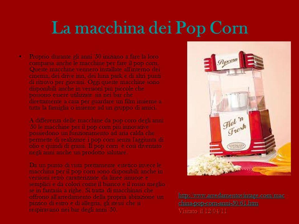 La macchina dei Pop Corn