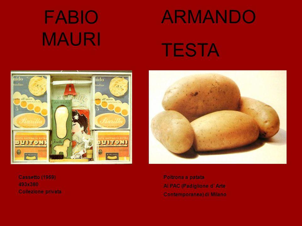 ARMANDO FABIO MAURI TESTA Cassetto (1959) 493x380 Collezione privata